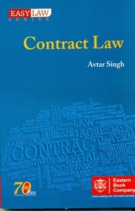 Buy Online EBC Contract Law By Avtar Singh English - Online contract law
