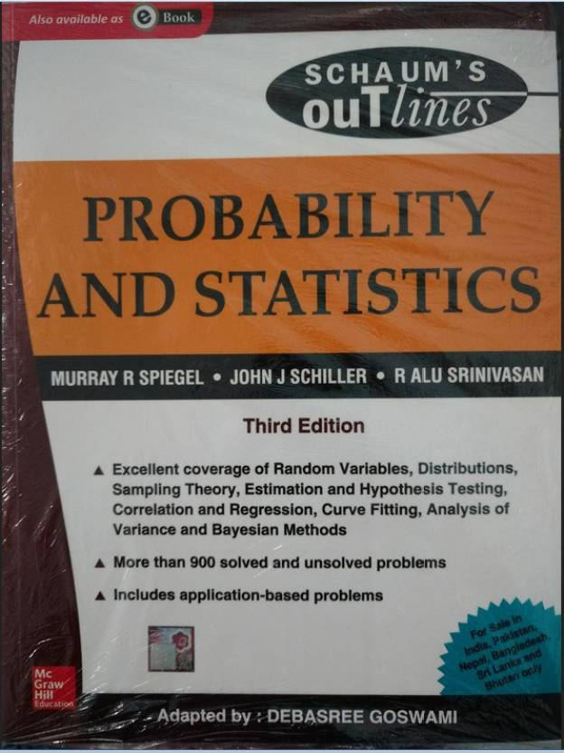 Best Price- Probability and statistics 3rd Edition in