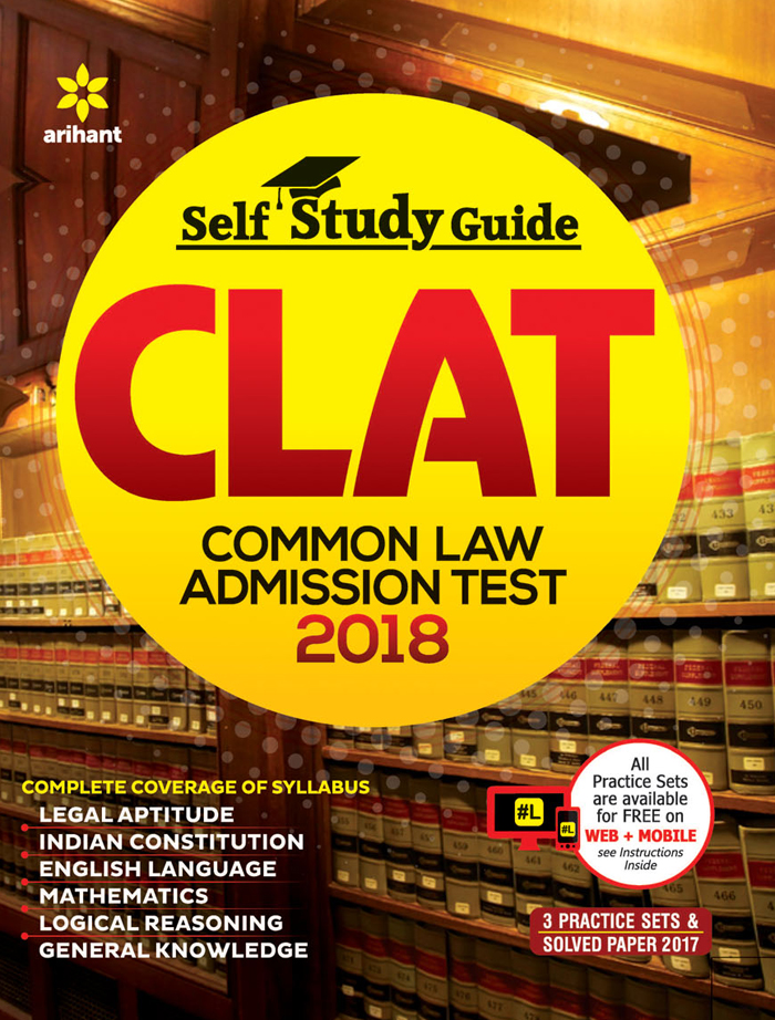 Best Price - Self Study Guide CLAT (Common Law Admission Test) 2018