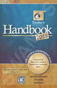 For staff handbook swamys pdf 2015 government central