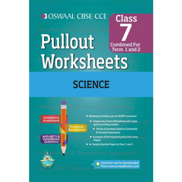 Best price pullout worksheets science for class 7 in english medium cbse pullout worksheets science for class 7 by oswaal books ibookread Read Online