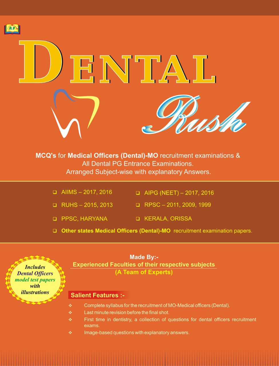 Best and Low Price - Dental Rush - MCQs for Medical Officers