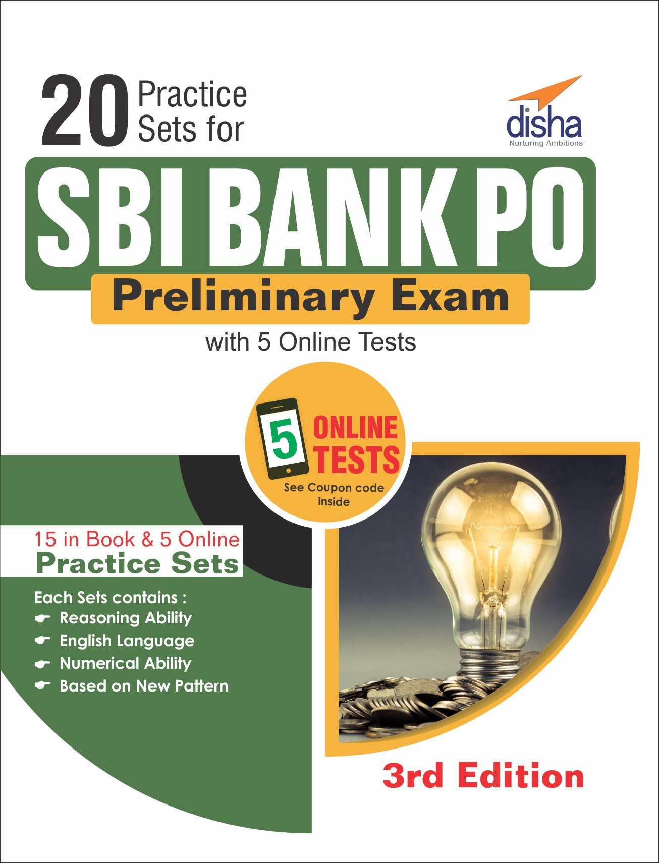 Best price on disha publication books online sbi bank po preliminary exam fandeluxe Images