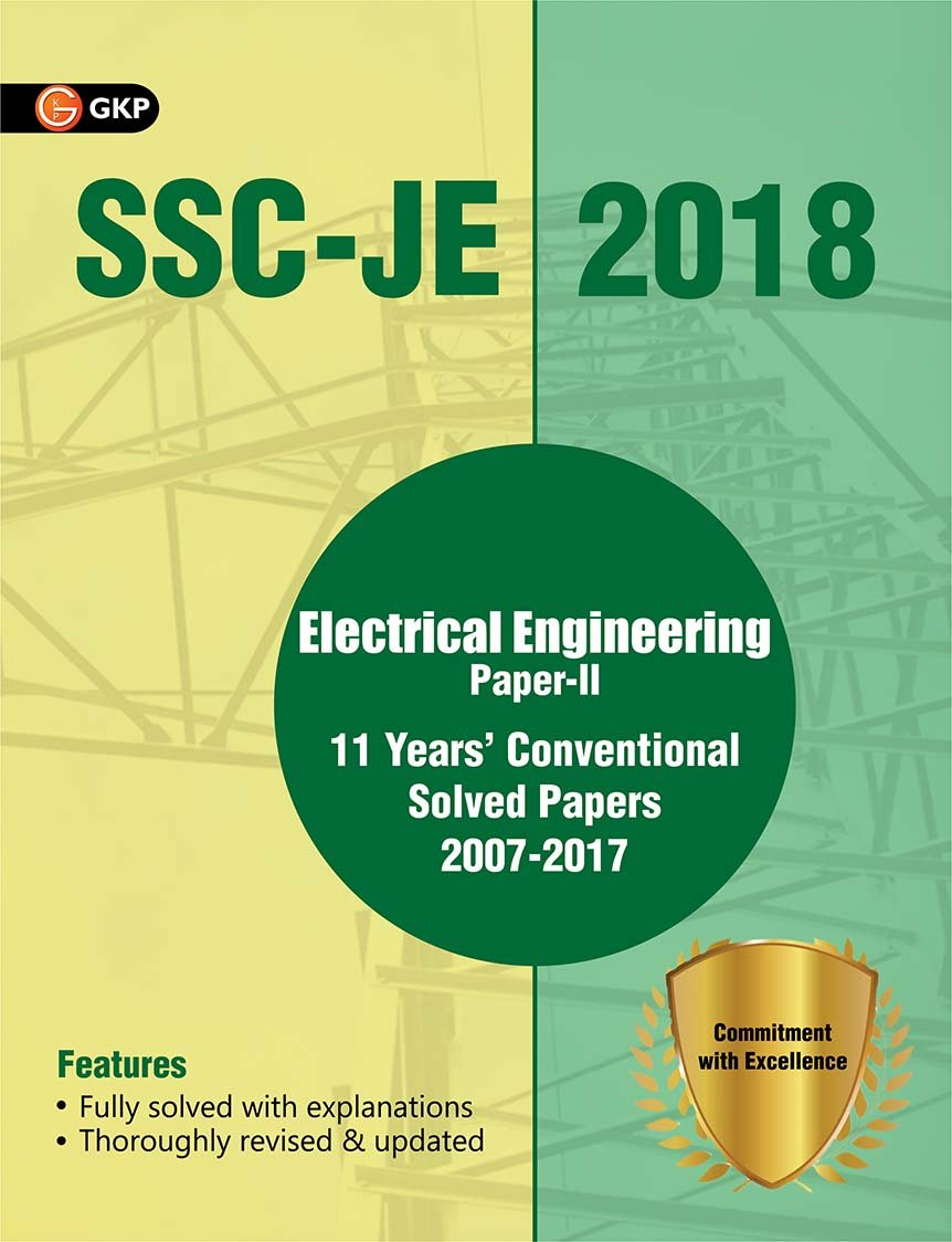 Books Practice Paper Work For Ssc Junior Engineer Civil Electrical Engineering Je