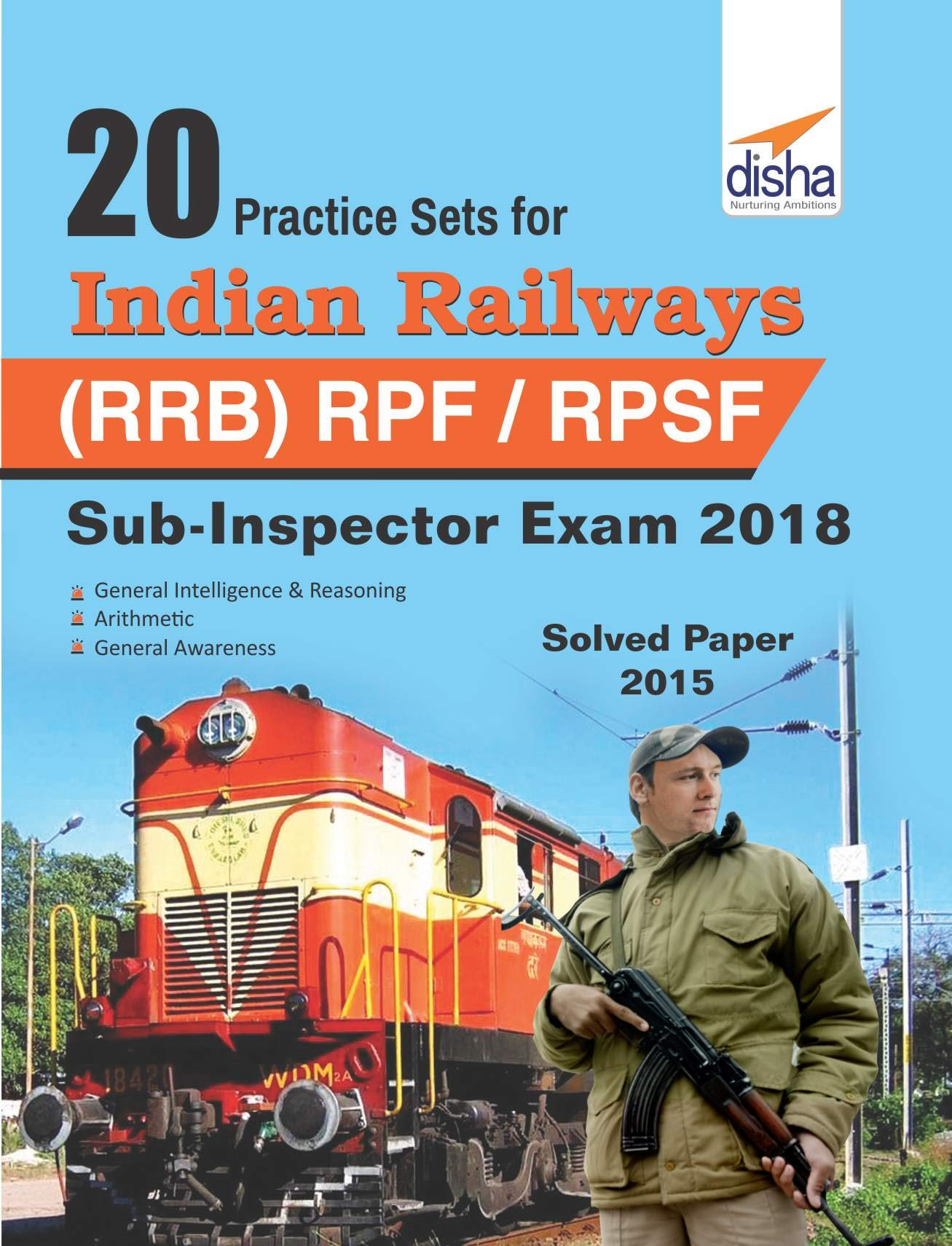 Best Price – 20 Practice Sets for RRB Sub-Inspector by Disha Publication