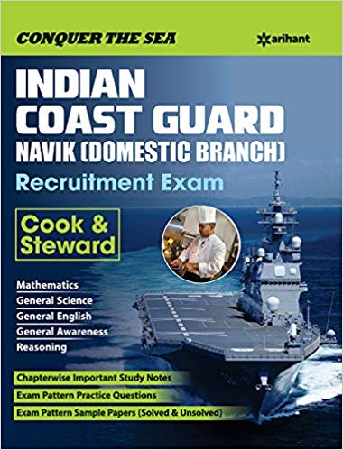 Buy :-Arihant-Indian Coast Guard Sailor Recruitment Exam Paperback